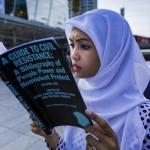 Thailandia: libri contro la dittatura. Foto