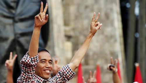 "Joko ""Jokowi"" Widodo Presidente Indonesia."