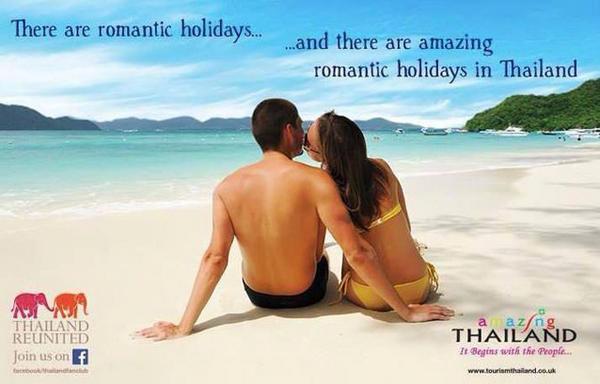 Thailandia Turismo spiaggia amore