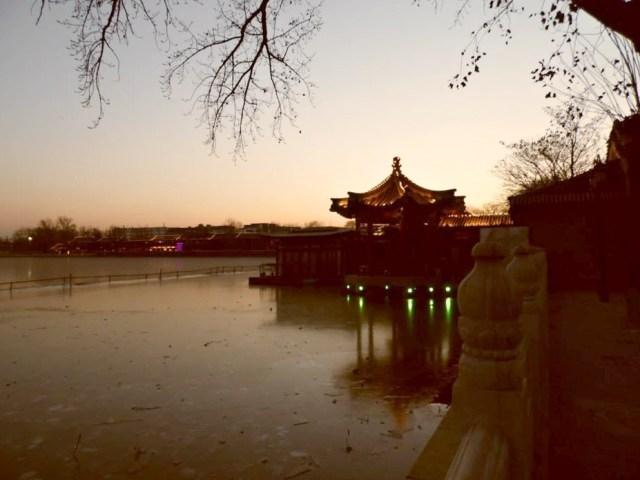 Lago Houhai (后海) Pechino, Cina.