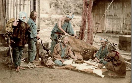 Eta Edo Japan