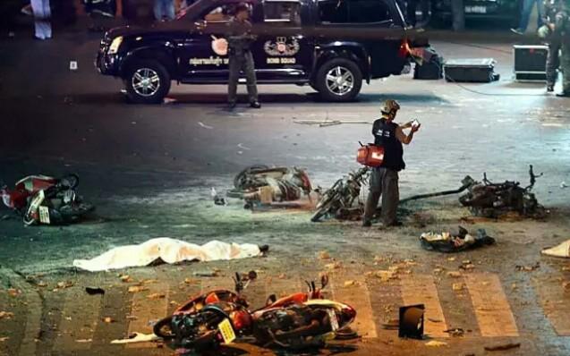 Bangkok, la scena della tragedia