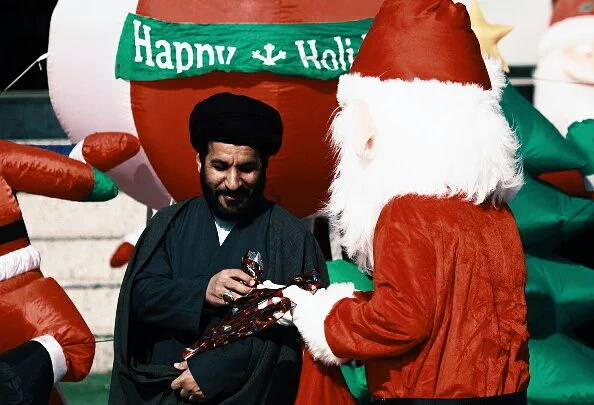 Babbo Natale in Iraq