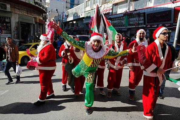 Babbo Natale in Palestina