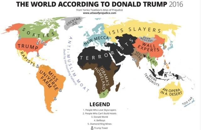 Il mondo secondo Donald Trump - 2016