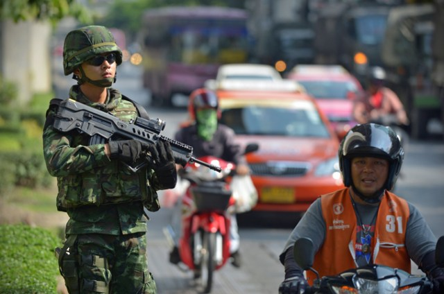 bangkok soldati colpo di stato