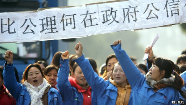 cina operaie guangdong donne lavoratrici