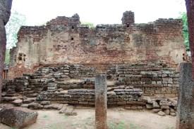 Wat Phra Non - L'impronta sull'intonaco, quel che resta del Buddha disteso (Phra Non)