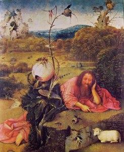 San Giovanni Battista in meditazione - Hieronymus Bosch