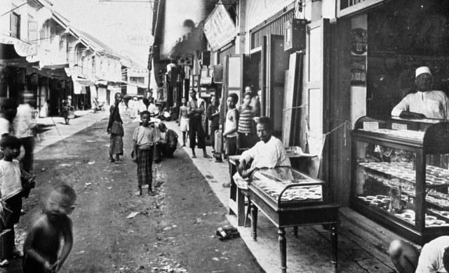 Bangkok nel 1900: Sampeng Lane Market, centro commerciale della città vecchia