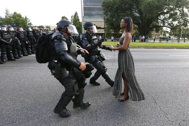 BLACK LIVES MATTER Iesha Evans Baton Rouge