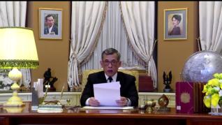 Il discorso di fine anno di Re Vajiralongkorn (Rama X) a reti unificate.