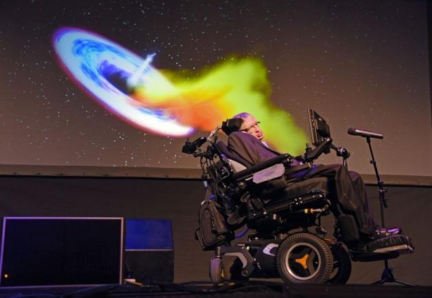 Stephen Hawking foto