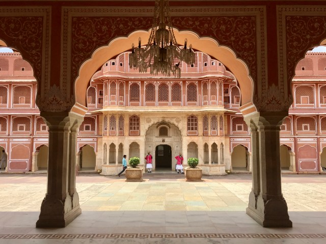 Pink City Jaipur Rajasthan India photo