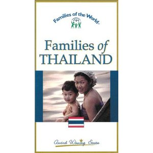 Families of Thailand (Families of the World) [VHS] (1997)