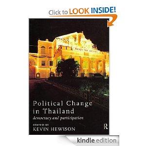 Political Change in Thailand (Politics in Asia)
