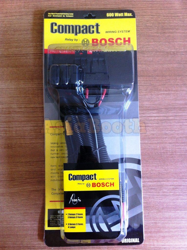 Bosch Relay Wiring Harness