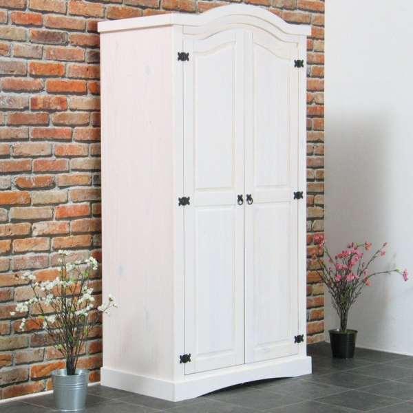 Lemari Pakaian Pintu Benedick Warna Putih