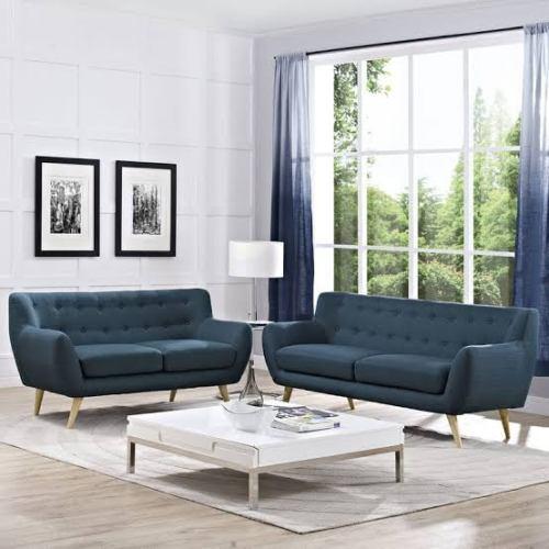 Set Kursi Tamu Sofa Retro Modern