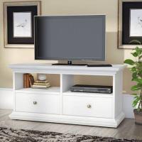Meja Tv Putih Minimalis Modern