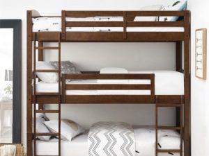 Tempat Tidur Tingkat Tiga Modern