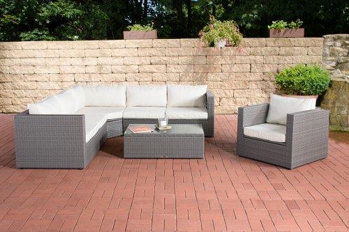 Sofa Rotan Abu Living Set