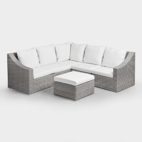 Sofa Rotan Sintetis Minimalis Steller