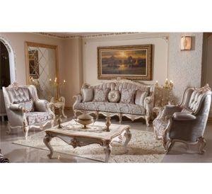 Set Kursi Sofa Mewah Ukiran