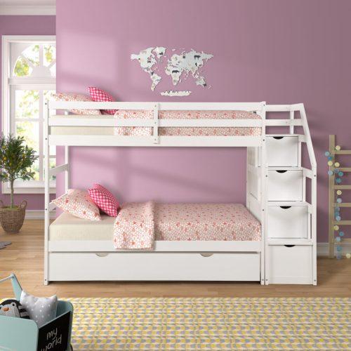 Tempat Tidur Anak Tingkat Duco Putih