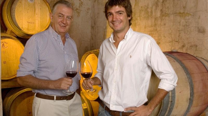 Bodega Amalia - Carlos and his son Adolfo