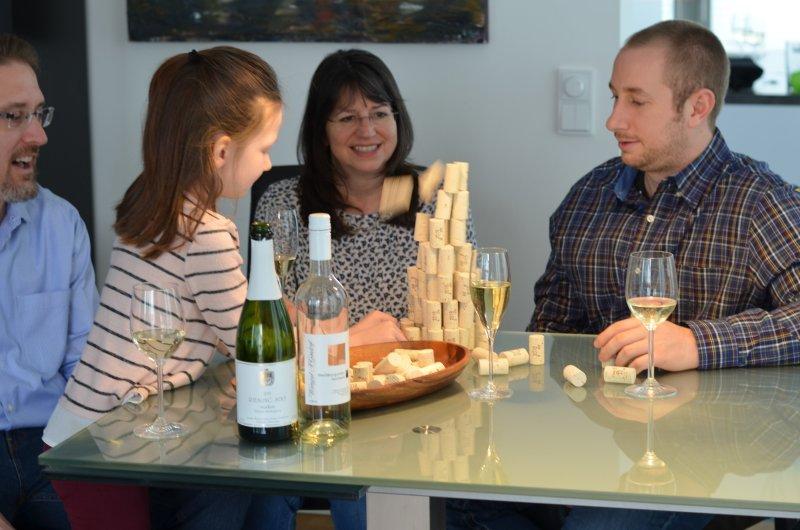 wine tasting in Weingut H. Gindorf