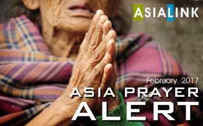 Monthly Prayer Alert – February 2017