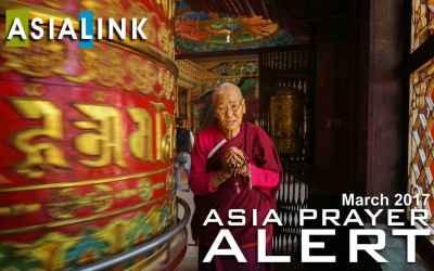 Monthly Prayer Alerts – March 2017