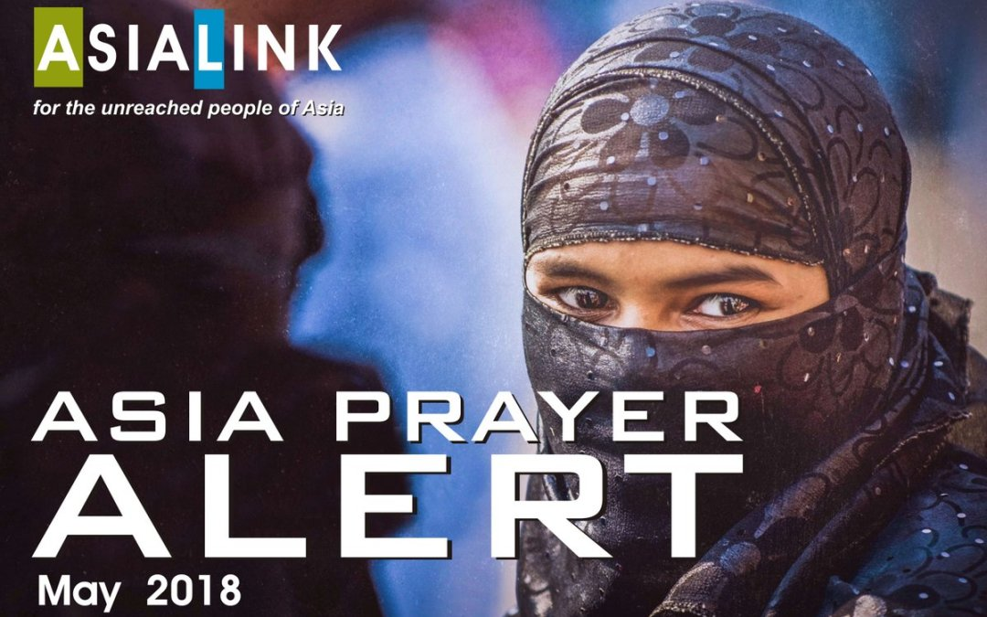 Monthly Prayer Alerts – May 2018