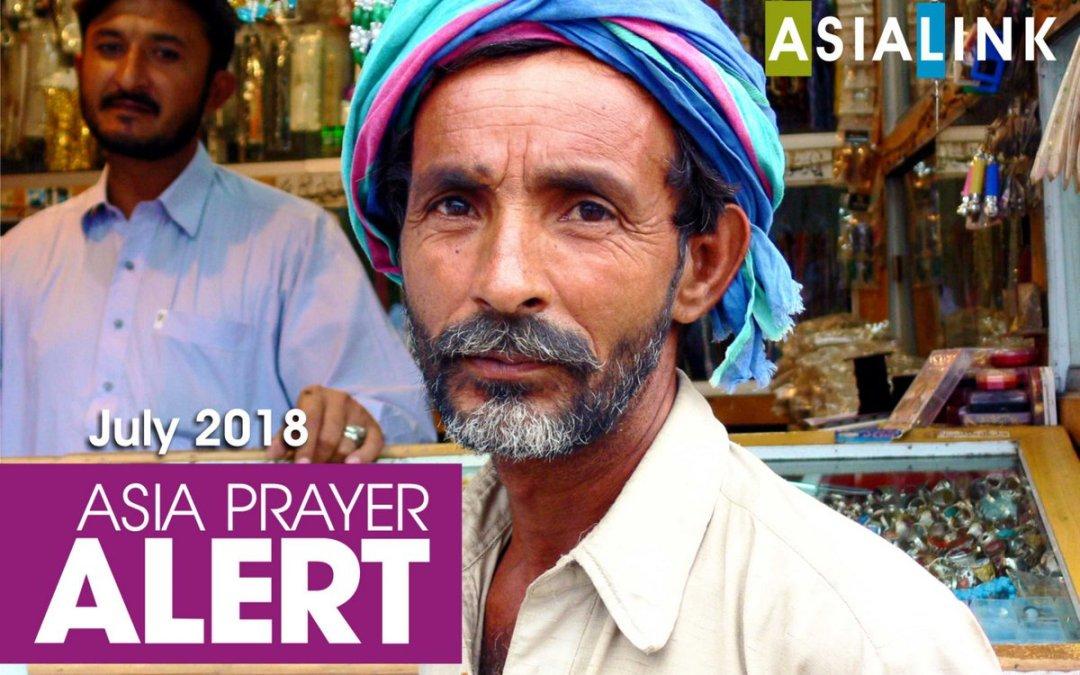 Monthly Prayer Alerts – July 2018