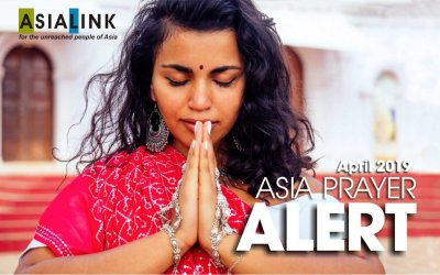 Monthly Prayer Alerts – April 2019