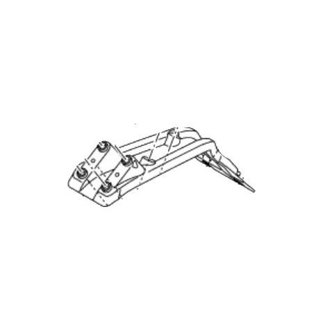 Bracket Rear Mudguard Yamaha YZF R15 BK6-F1617-00