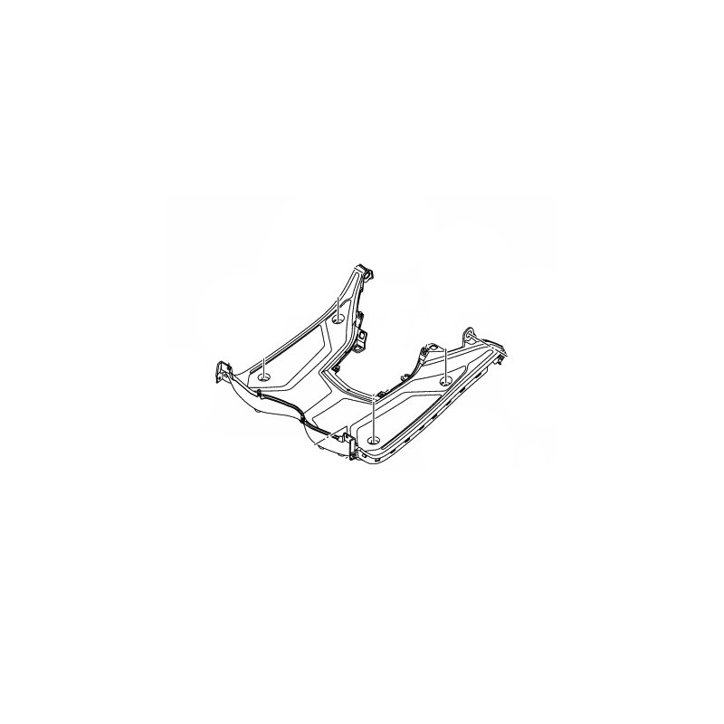 Plastique Pieds Yamaha Tricity 125/150 BB8-F7481-00