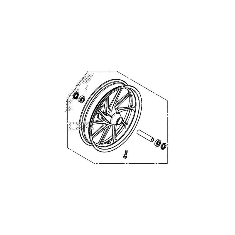 Front Wheel Honda CMX 300 Rebel 44650-K87-A00