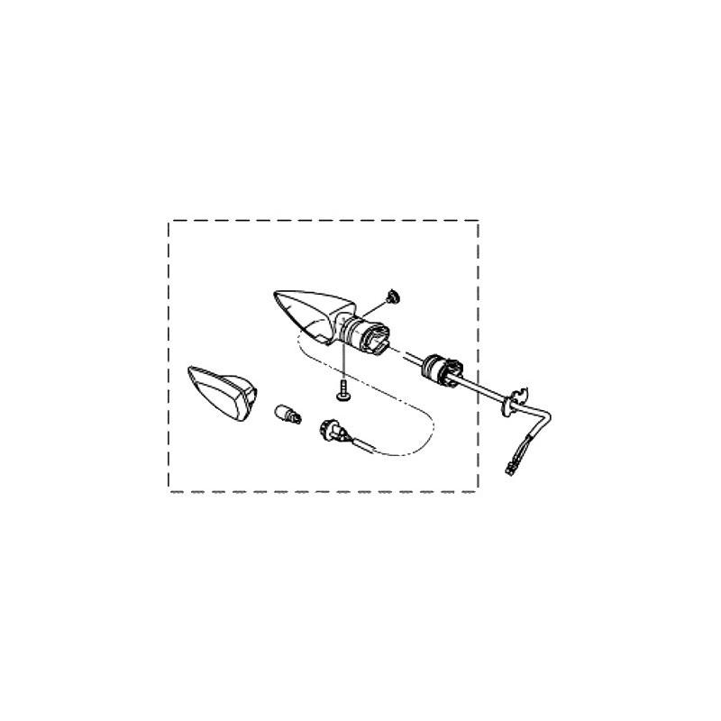Clignotant Avant Droit Yamaha MT-15 2019 B48-H3320-00