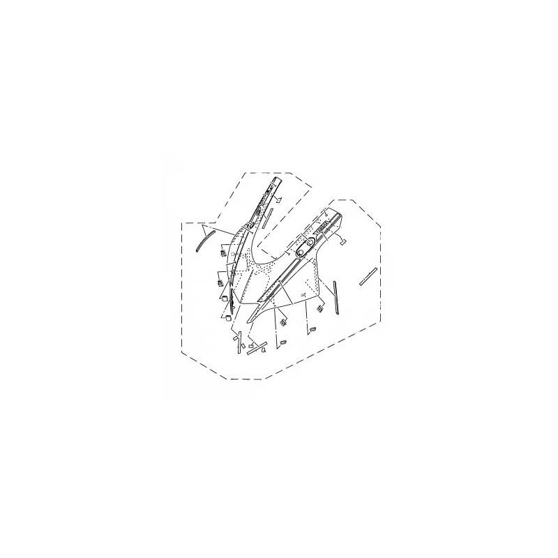 Face Avant Yamaha YZF R3 2019 BS7-XF83F