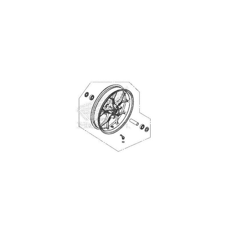 Front Wheel Honda CB650R 2019 44650-MKN-D50ZA