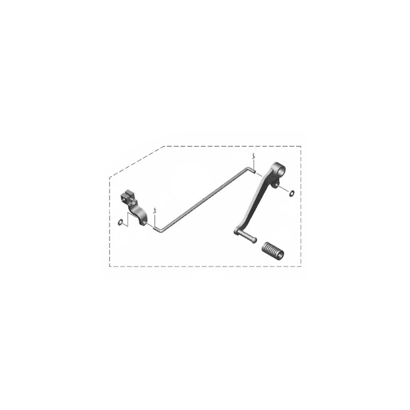 Gear shift Pedal Yamaha XSR 155 B1V-E8110-00
