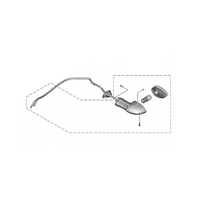 Rear Left Winker Yamaha XSR 155 B1V-H3330-00