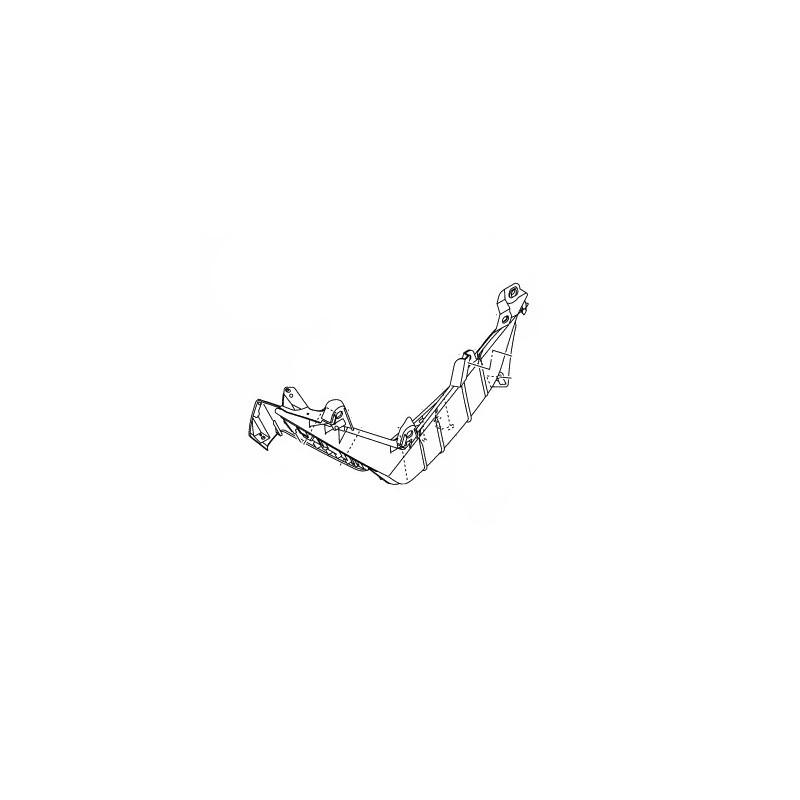 Board Footrest Right Yamaha NMAX 2016 2017 2DP-F7488-00