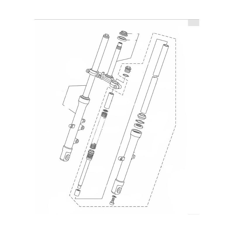 Under Bracket Front Forks Yamaha YZF R15 2014 2015 2016