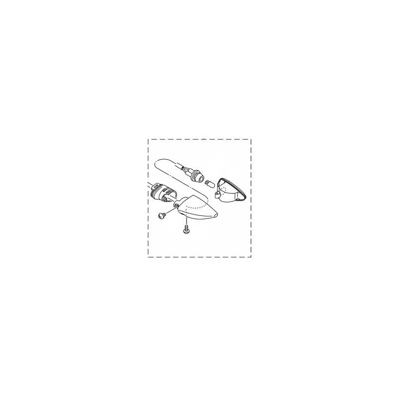 Clignotant Arrière Gauche Yamaha YZF R15 2014 2015 2PK