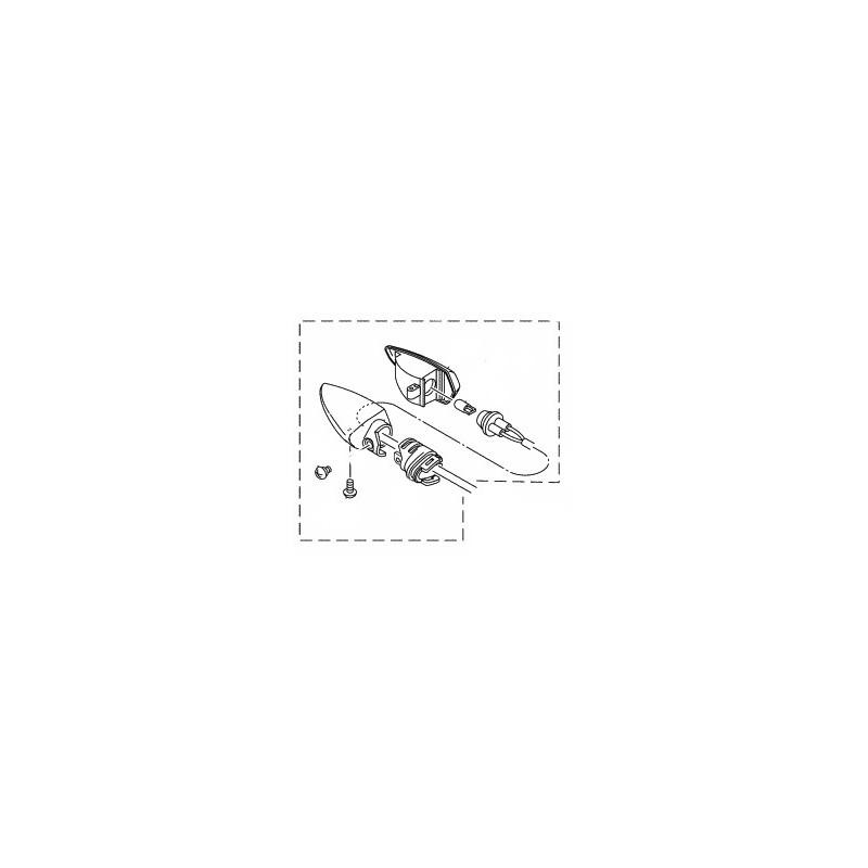 Clignotant Arrière Droit Yamaha YZF R15 2014 2015 2PK-H3340-00