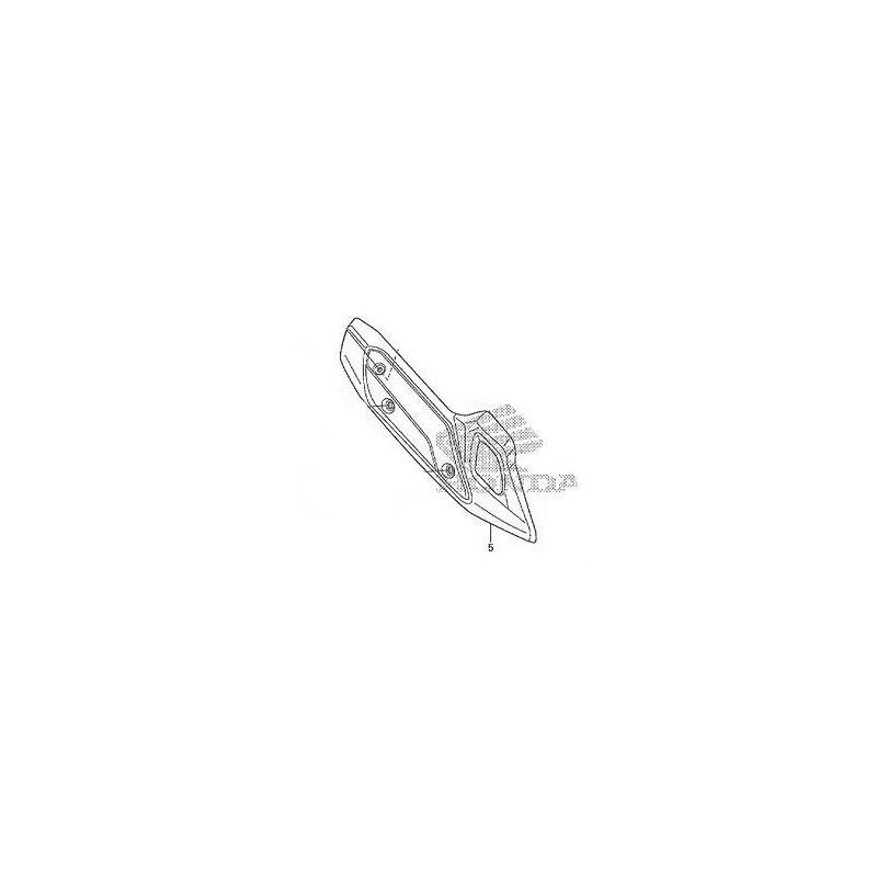 Couvre Echappement Honda Sh125 / Sh150 18318-K01-900