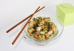 Spicy Asian Tofu Salad